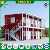 Glass wood fireproof sandwich panel storage container ,prefabricated living house