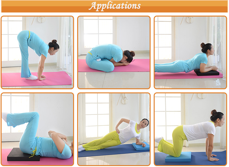 Manufacturer Wholesale Eco-friendly Extra Thick Anti-Slip NBR Yoga Mat