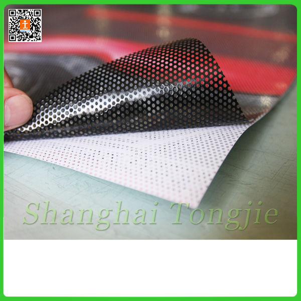 Perforated one way vision self adhesive Vinyl film