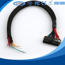 Bridge earth grounding wire cable with ring terminal