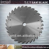 "tungsten carbide tipped circular saw blade with chrome coating for hardwood ""V"" Cutting"
