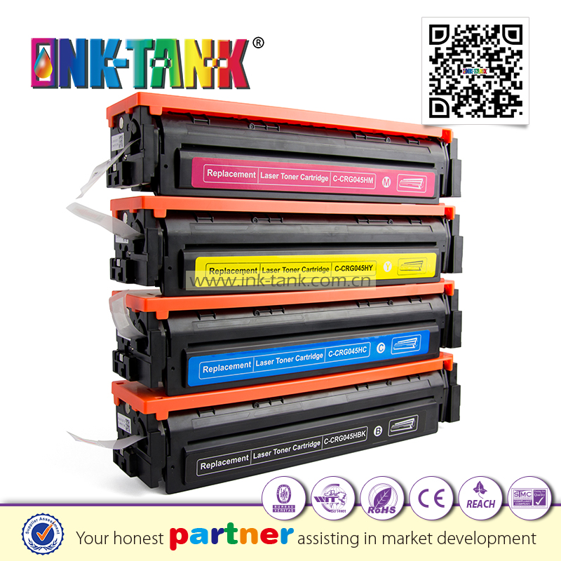 High yield Replacement with Canon 045 H toner cartridge zhuhai use in MF632Cdw MF634Cdw