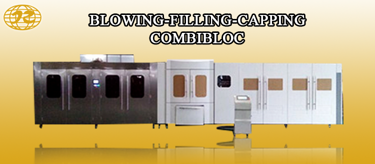 3-10l bottle water blowing filling capping combiblock line machine and label