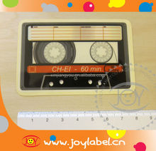 Music Tape Transparent Sticker