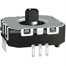 2-axis potentiometer joystick with tact plastic switch ,dual unit,P.C.B teminal
