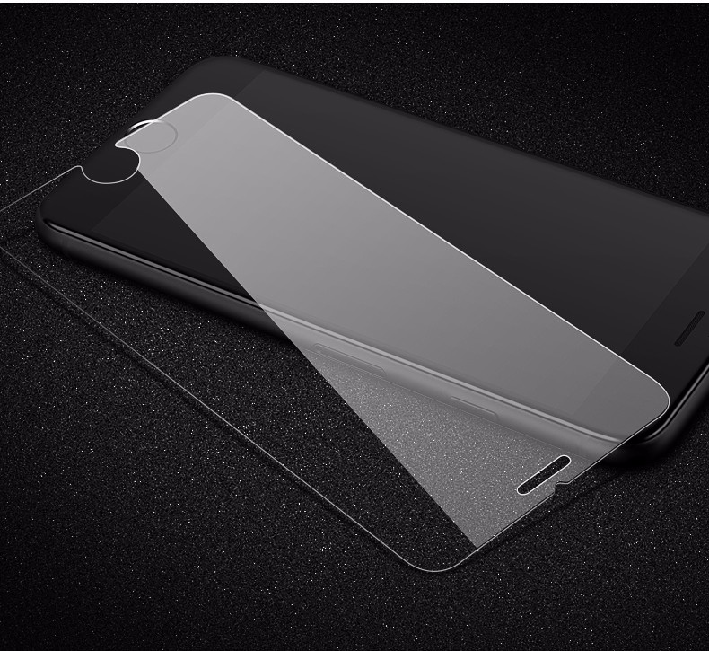 Nano high- tech mobile phone film 2.5D 9H origin 100% high clear screen protector tempered glass ,screen guard for iphone 8