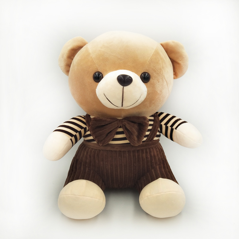 Cute Lamb Stuffed Animals, Size 50cm Lovely Brown Teddy Bear Plush Toy Strap Dressing Suits Bear Buy Strap Dressing Suits Bear Teddy Bear Brown Bear Product On Alibaba Com