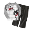 MS65735C new arrival dog prints clothes for baby
