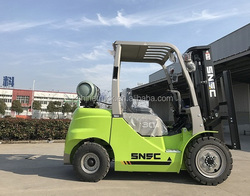 china 3 t gas forklift truck with japan nissan motor