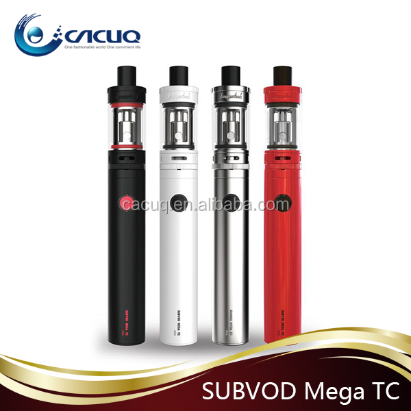 2016 portable Black , White , Red , Silver Kanger Subvod Mega Starter Kit 2300mAh Pen Style SUBVOD Mega TC kit