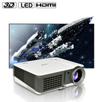 Home& School Education 1024*600 full hd 1080p 2500 ANSI Lumens led Projector