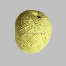 50% baby camel 50% cashmere blended knitting yarn for sale