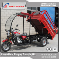 bajaj 3 wheels motorcycle for cargo / cargo tricycle with windshield