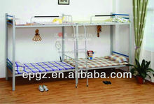 2014 Durable Cheap School Dormitory Steel Double Decker Bus Bunk Bed