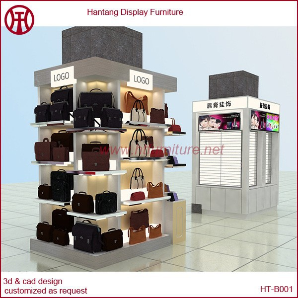 Hot sale for high class mall wallet fixture stand shop for sale