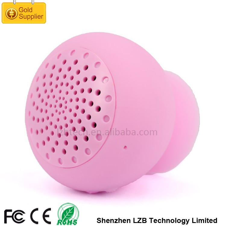 BS-047 Portable Waterproof Bluetooth Shower Speaker Mini Mushroom Bluetooth Speaker