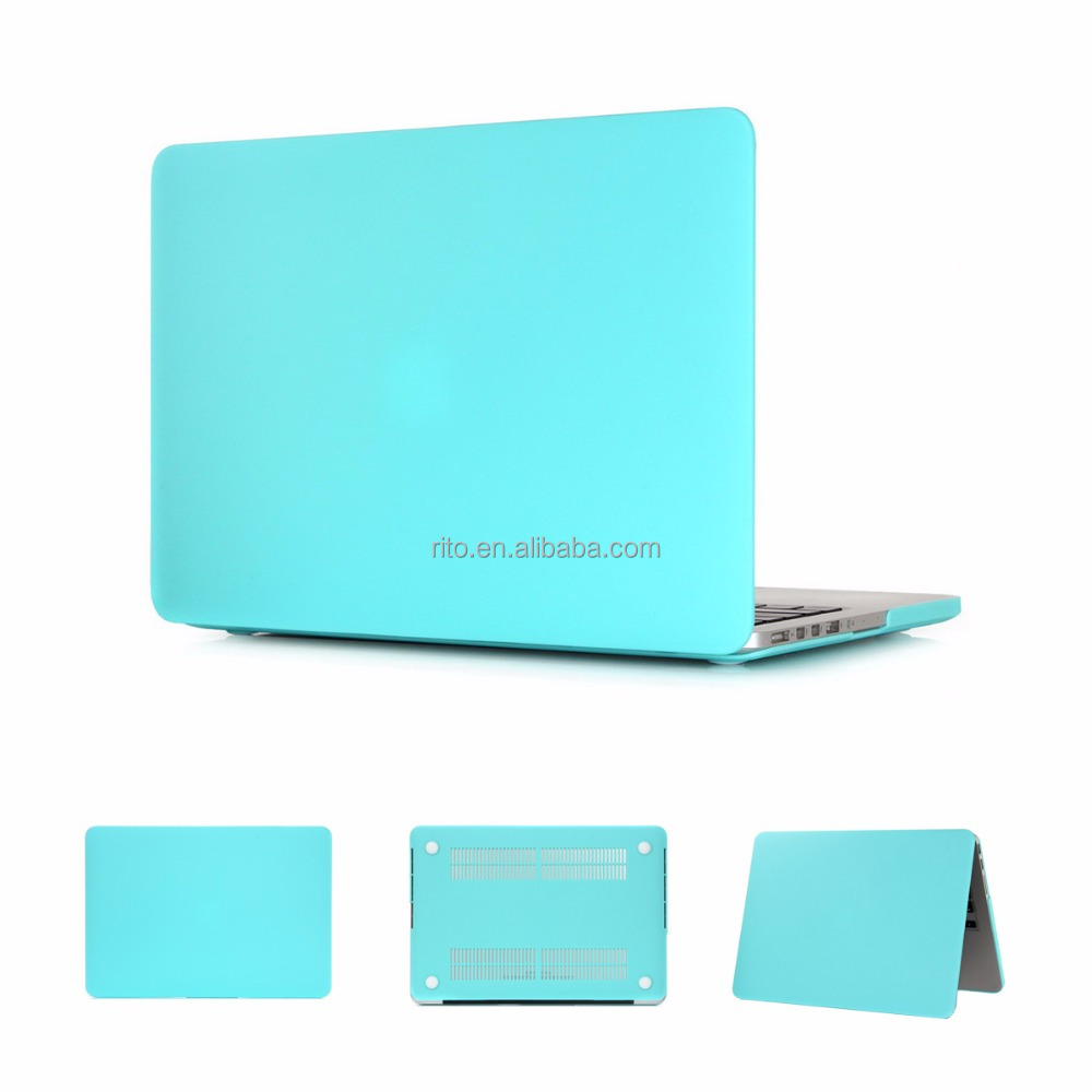 New Color Rubber Laptop Cover for MacBook Pro, for Macbook Pro 15 Inch Case with Retina Display