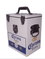 ice box cooler,beer cooler,metal cooler box with handle