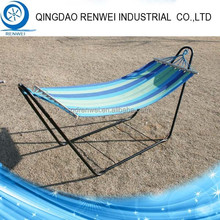 Heavy Duty Outdoor Portable Steel Camping Hammock with Stand /Folding Hammock Stand