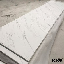 fire resistant Acrylic solid surface sheet, artificial resin stone slab