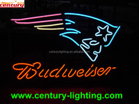 budweiser neon beer sign