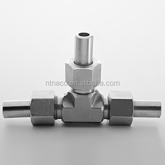 Straight elbow tee compressed system ss316 welded pipe air fittings