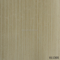 Plain wood pattern wallpaper for hotel deco
