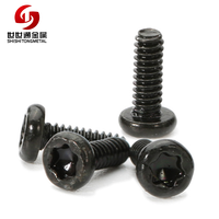 Electronics Black Small Screws Iron Carbon