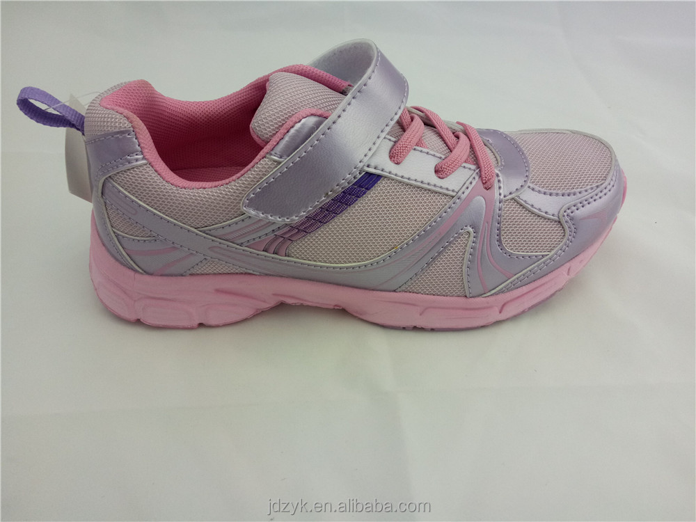 Simple design and color variety outdoor sports shoes for boys and girls