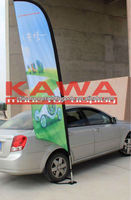 Feather banner used car tires,car flag