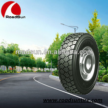 All steel radial tires with all tire size 11R22.5, 11R24.5 12R22.5