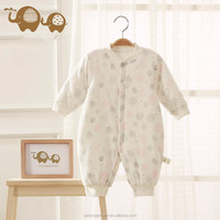 Custom winter design thicken cotton-padded cheap newbron baby clothes online
