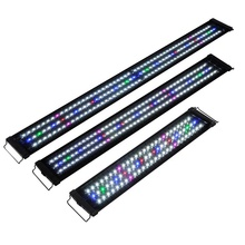 Cheap price Linear aluminum switch ON/OFF blue white colorful <strong>rgb</strong> aquarium light