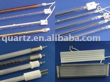 Tungsten Halogen Heating Lamp and Heating Tube For Blowing Machine tube