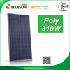 Bluesun high quality photovoltaic roof tile panels 310watt 310w poly pv solar panel price list