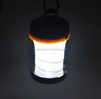 Multi-functional Foldable Power LED Light Camping Portable Lantern with Hanging Hook
