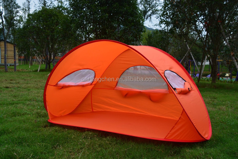 2017 New style 1-2 person folding with widow beach tent