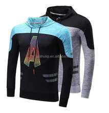 design your brand men slim fit pullover sweater hoodies made in china training sport t-shirt OEM hollister hoodie