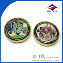 Full stock soft enamel NYPD coin with your own design for souvenir