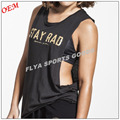 High Lightweight Soft Yoga Wear Low Cut Womens Sport Tank Top