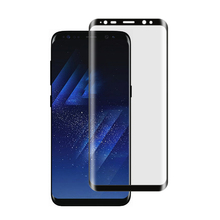2018 New Product tempered glass for Samsung galaxy S8 S8plus glass high quality 3d curved screen protector