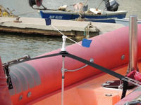 Stop Gull Air Kit support for inflatable boats
