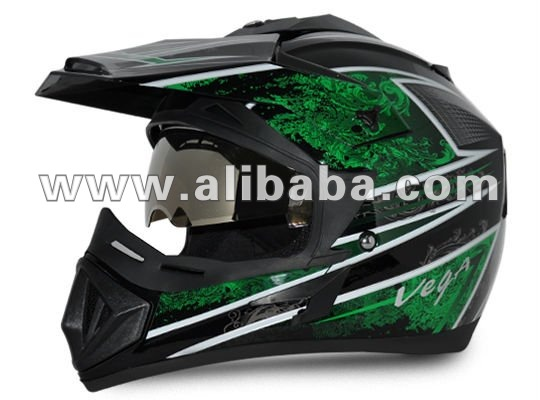 MOTORCYCLE HELMET, OFF ROAD, ISI-DOT STANDARDS HELMET