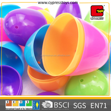 promotional gift empty funny surprise plastic egg capsule toy for party