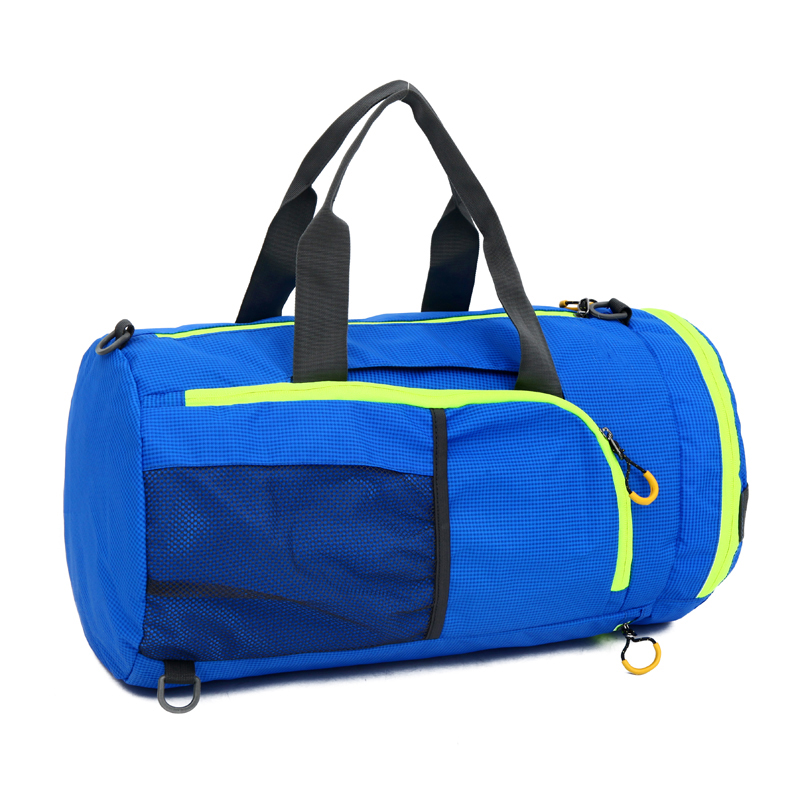 wholesale cheap foldable sport duffel bag waterproof travel gym duffle bag