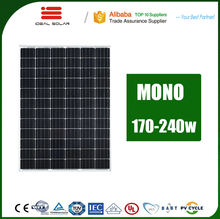 best price per watt 175w 180w 200w 230w 240w 170 175 180 w 200 watt 12v mono poly solar panel for house