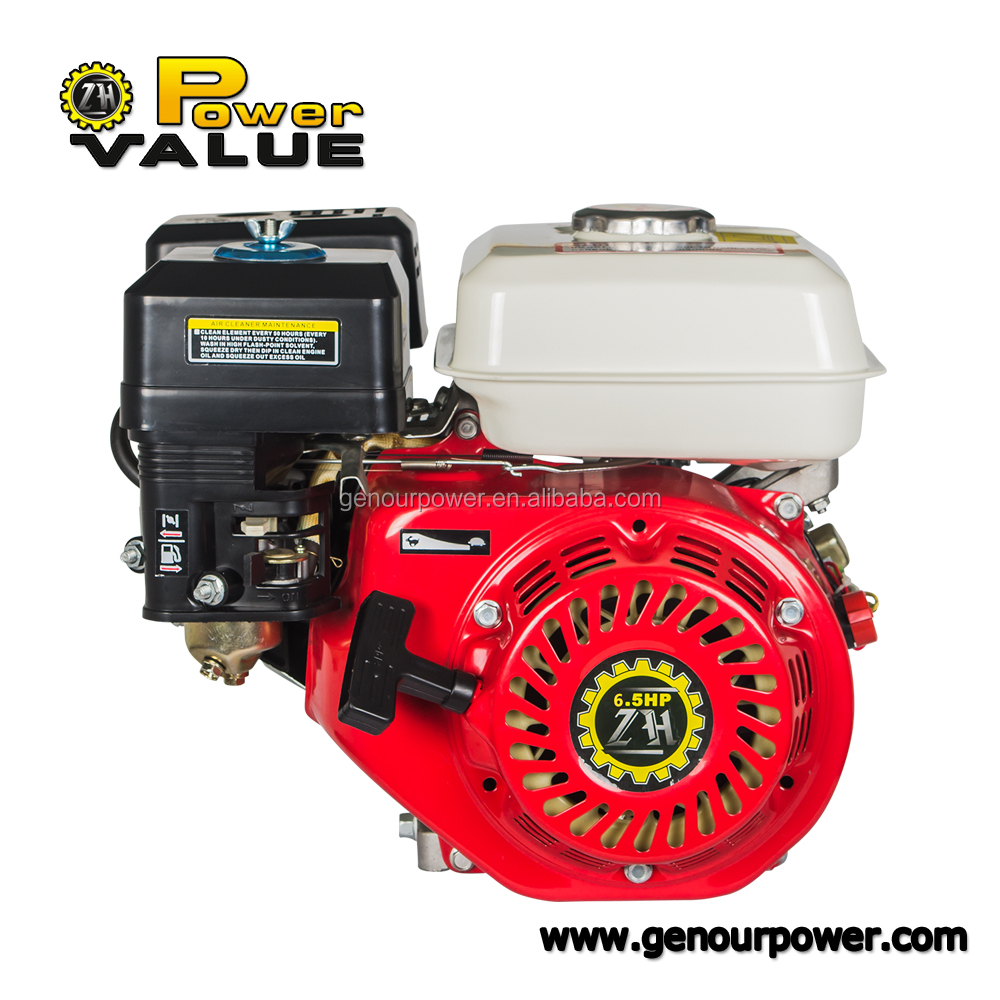 Power Value 4 valve 6.5 hp 168f 200 cc engines with gasoline fuel for sale