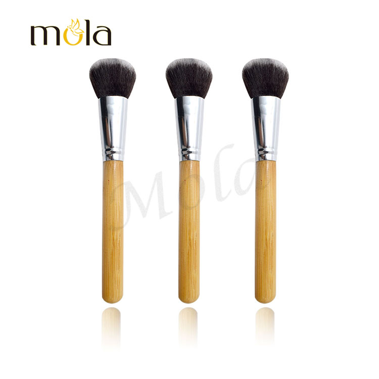 eco-friendly bamboo your own brand makeup your own brand 10 piece makeup brush set