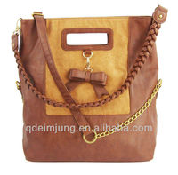 2015 Qingdao european pu shoulder bags for women