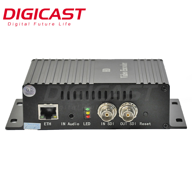 (DMB-8800)China factory HTTP/RTMP/RTSP HD Mpeg4 H.264 Video IPTV Encoder for IP Broadcasting Level Headend system